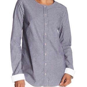 Michael Stars l Stripe Button Down Shirt